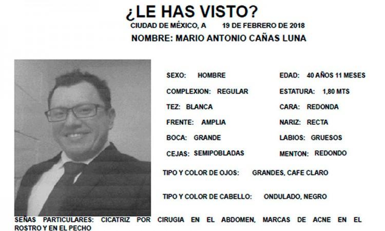 Localizan a periodista desaparecido en CdMx