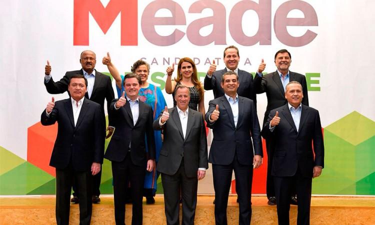 Incorpora Meade a su campaña a Chong, Beltrones y Paredes