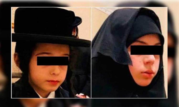 Rescatan en Edomex a dos niños secuestrados por secta en EU