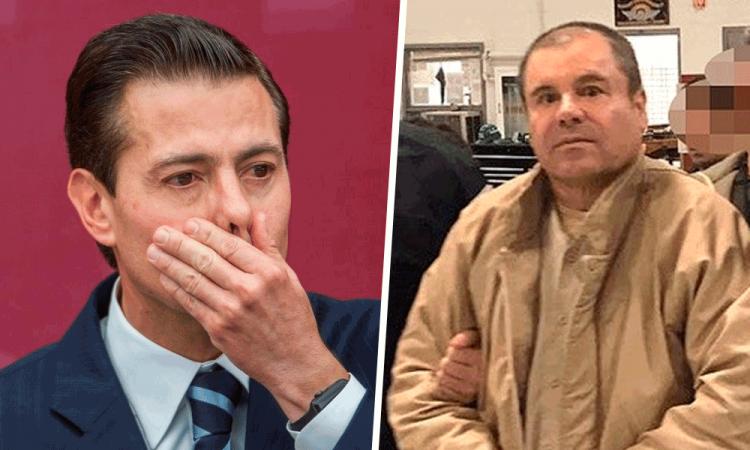 Acusan testigo a EPN de recibir sobornos de El Chapo