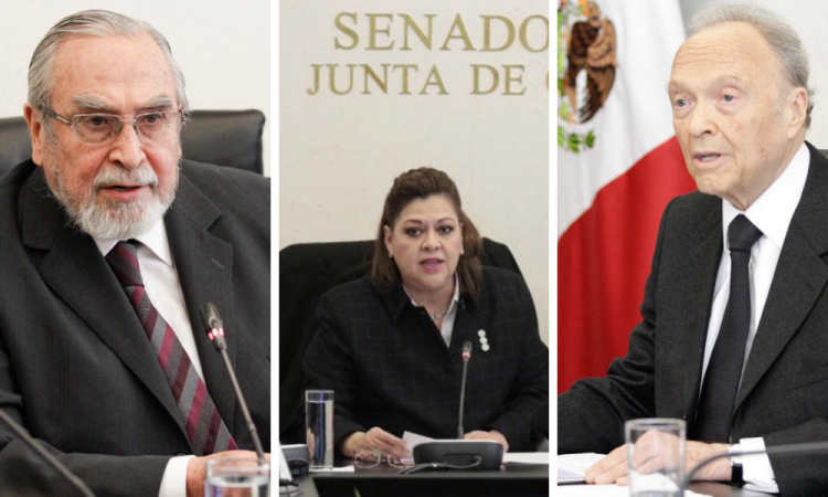 Bátiz, De Gyvés y Gertz Manero conforman la terna de López Obrador para fiscal general