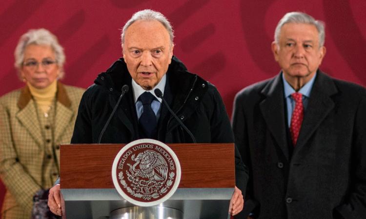 Designan a Alejandro Gertz como Fiscal General