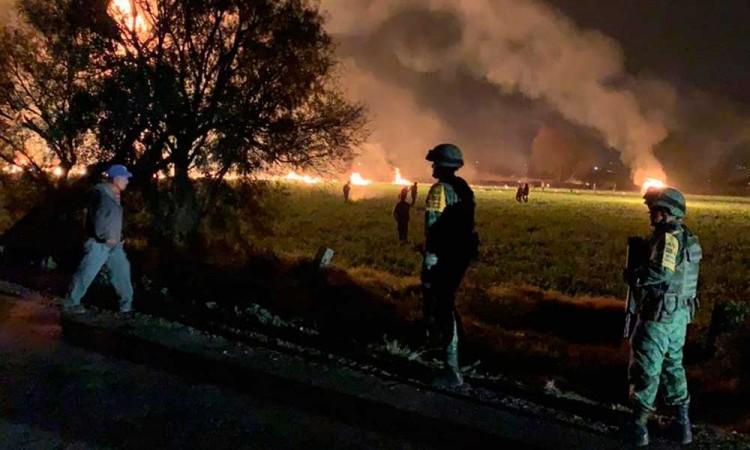 Aumenta a 85 muertos por explosión en Tlahuelilpan