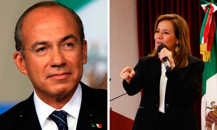 Calderón y Margarita Zavala registran ante el INE a México Libre, nuevo partido