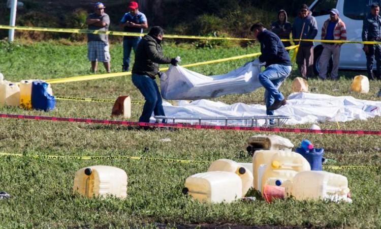 Aumenta a 96 el número de muertos en Tlahuelilpan