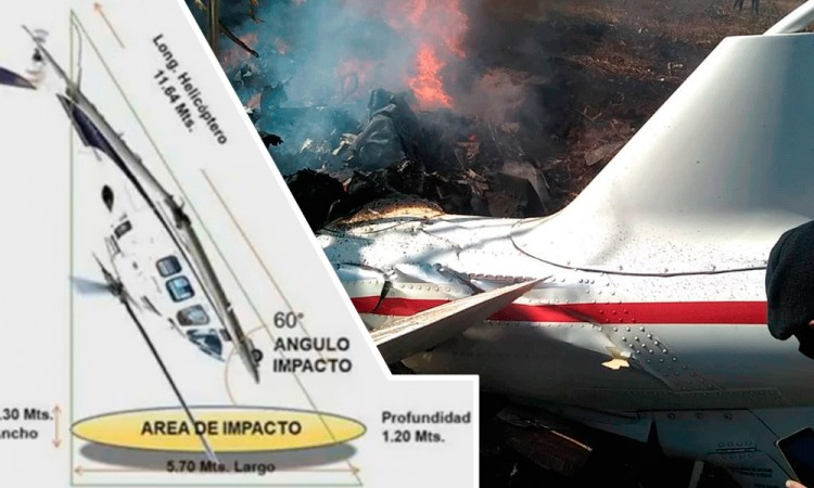 Inusual, caída del helicóptero de Martha Erika y Moreno Valle: SCT