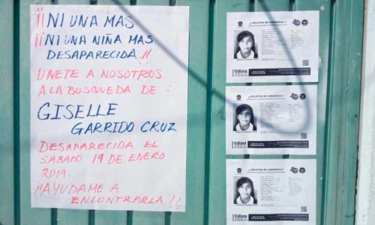 Encuentran sin vida a Giselle, la menor desaparecida en Chimalhuacán