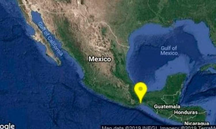 Se registra sismo de 5.6 grados con epicentro en Oaxaca