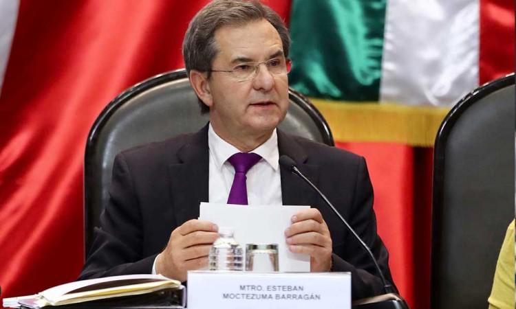 Esteban Moctezuma aún no realiza declaración patrimonial