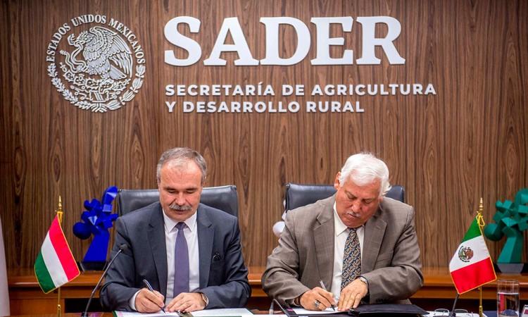 México y Hungría firman a favor de la agricultura