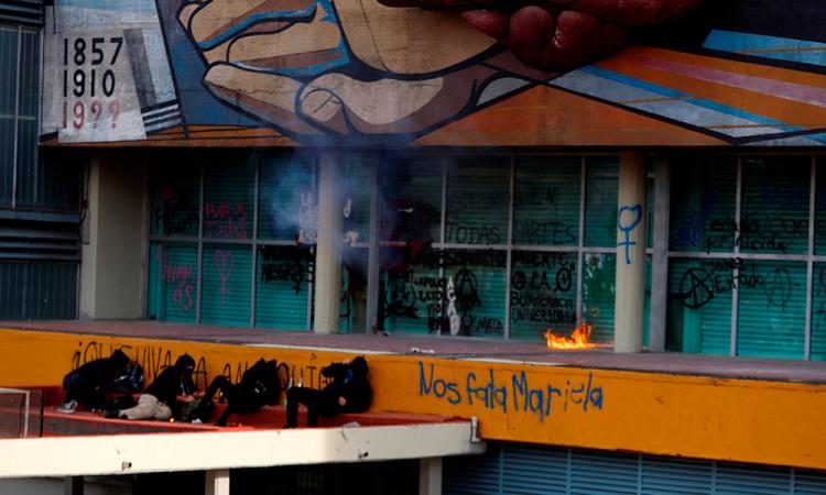 Enrique Graue condena vandalismo en la UNAM