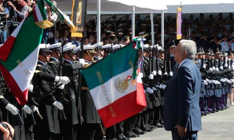 Ejército ratifica su apoyo al gobierno de López Obrador