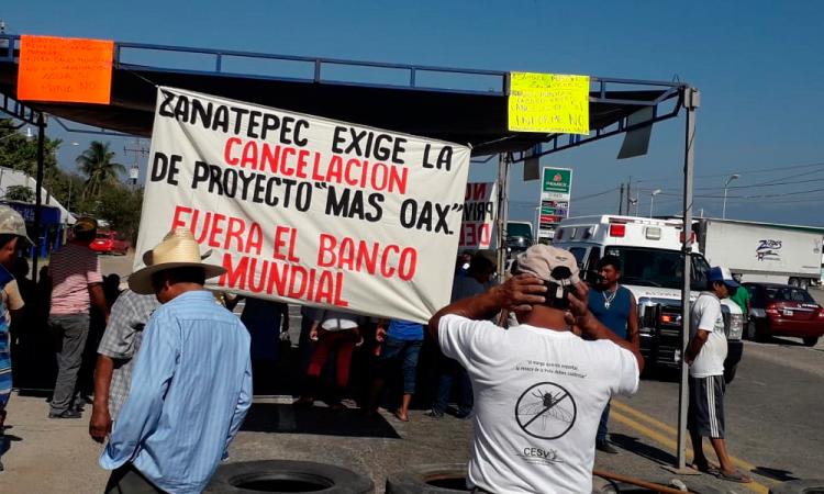 Bloqueos en Oaxaca por oposición a proyectos privados de agua