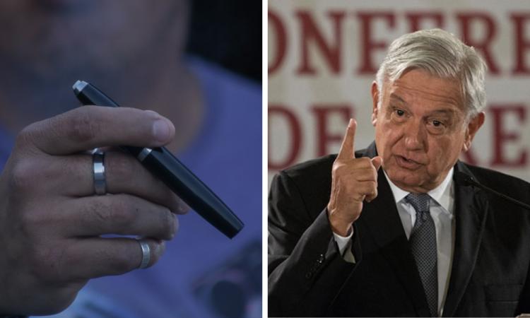 Prohibida la importación de cigarros electrónicos: Decreto presidencial