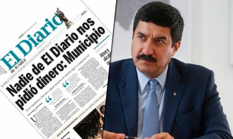 Demanda El Diario a Javier Corral por amenazas y hostigamientos