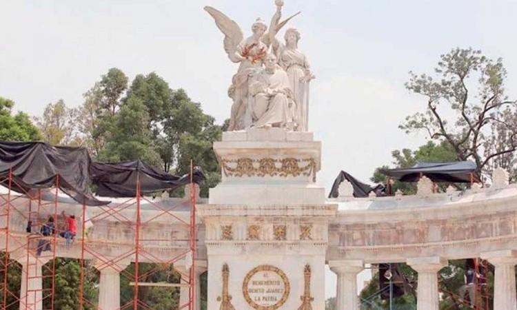 Iniciarán restauración de monumentos en CDMX