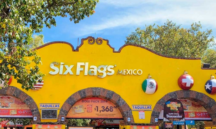 Por coronavirus, Six Flags y Hurricane Harbor anuncian cierre temporal