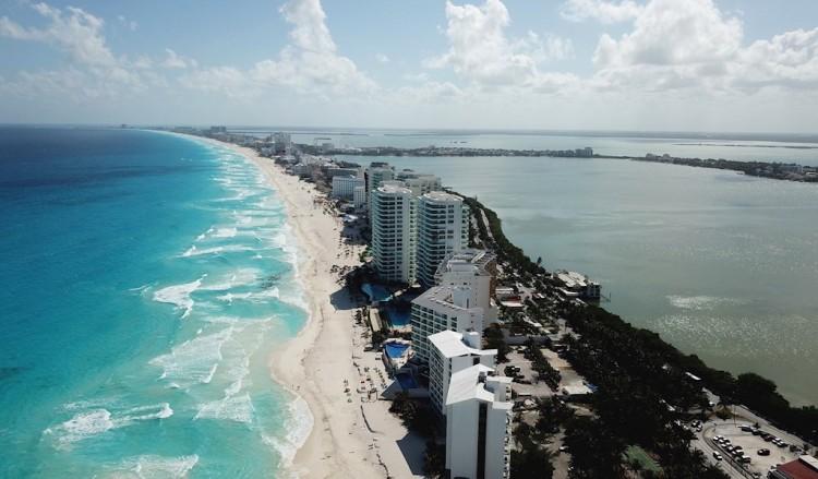 Cancún registra su ocupación más baja en años por Covid-19