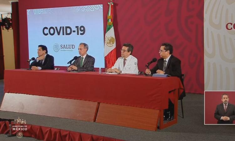 COVID-19: Confirman 405 infectados en México en plena fase 2