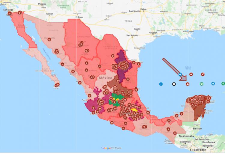 Asciende a 475 infectados por COVID-19 en México