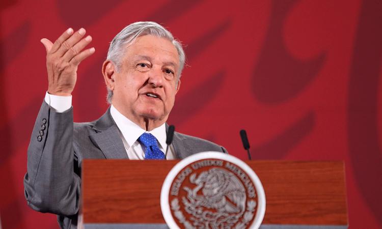 López Obrador insiste a partidos que donen 50% de presupuesto ante pandemia