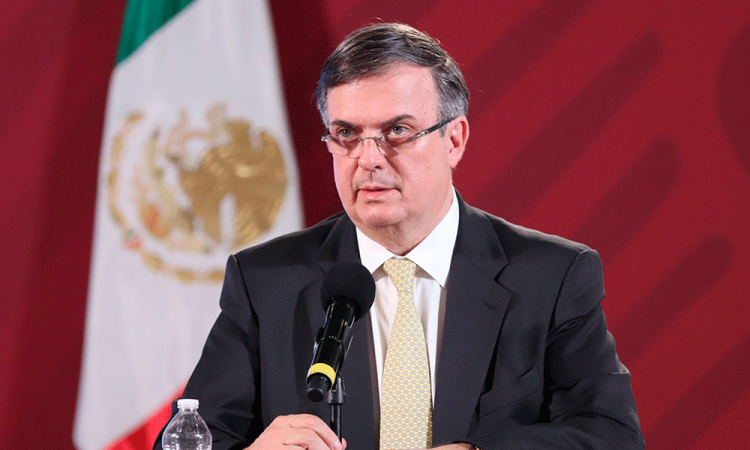 Espera México segundo cargamento de equipo médico desde China: Ebrard