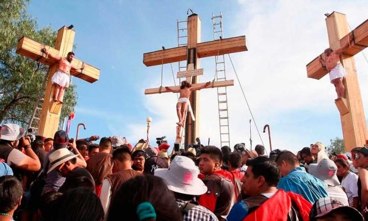 Viacrucis de Iztapalapa será a puerta cerrada