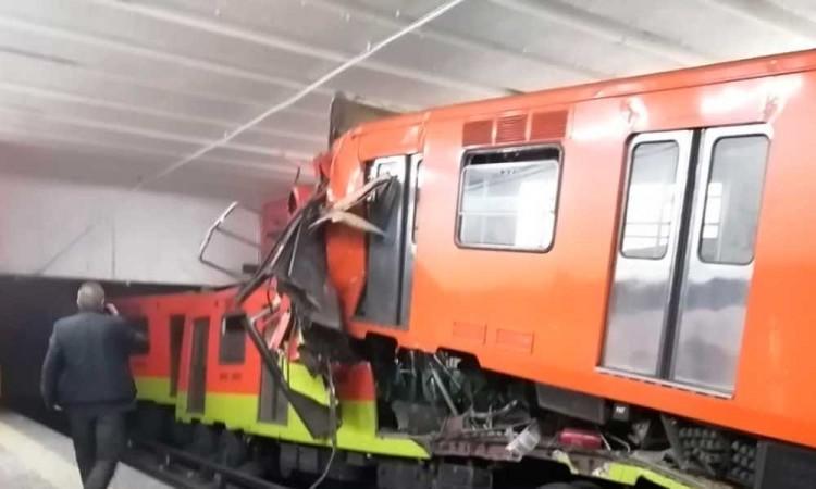 Arrestan a responsables del coque en metro Tacubaya