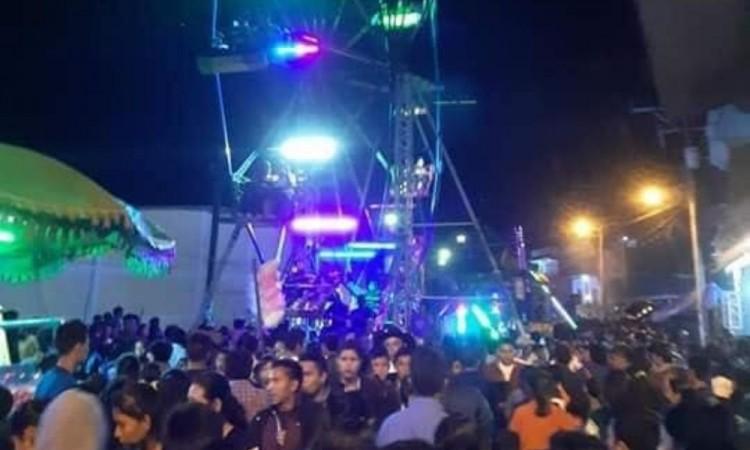 Realizan Feria de Chiapas sin tomar en cuenta las restricciones sanitarias