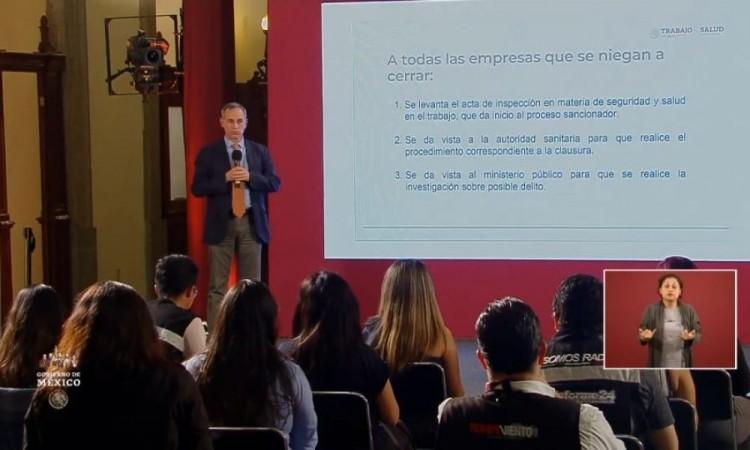 México presenta 5 mil 847 casos positivos por Covid-19, además de 449 fallecidos