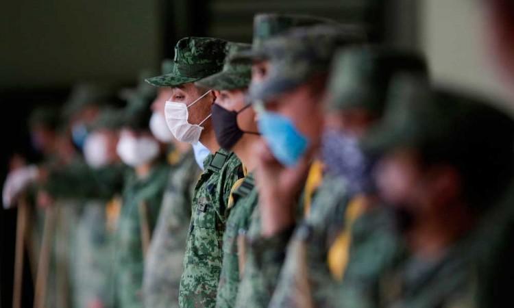 Descartan militarizar medidas ante el COVID-19