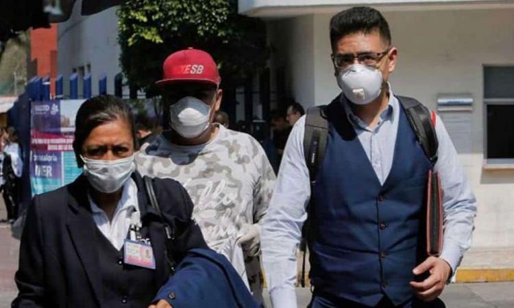 Hay 6 mil 875 casos confirmados de Covid-19 en México