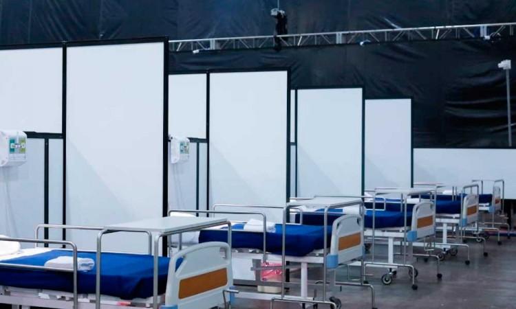 Habilitan Centro Citibanamex para recibir enfermos de COVID-19