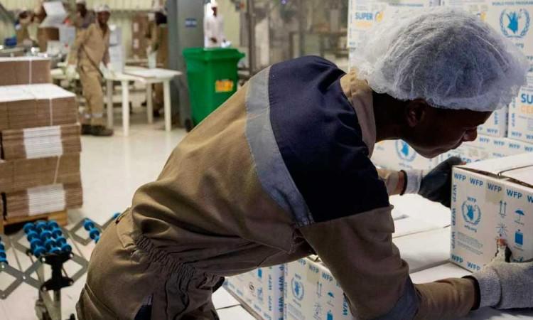 Hacen campaña para donar despensas durante pandemia