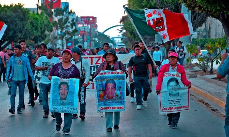 Marchan para exigir la búsqueda de desaparecidos en México