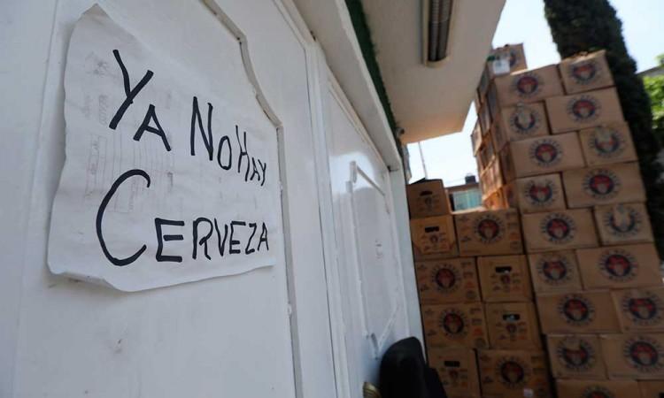 No hay cerveza: La escasez por el COVID-19 se evidencia en México