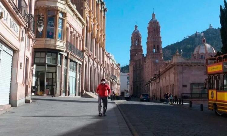 Zacatecas, con el peor desempeño ante el COVID-19