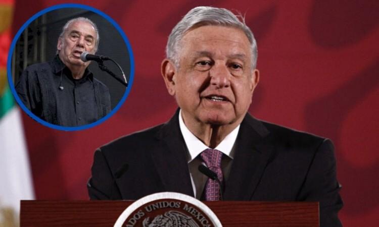 Lamenta López Obrador muerte de Óscar Chávez