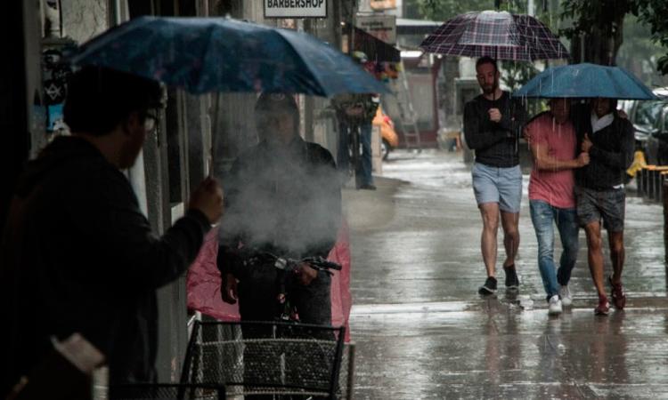 Se prevén fuertes lluvias en la mayor parte del país