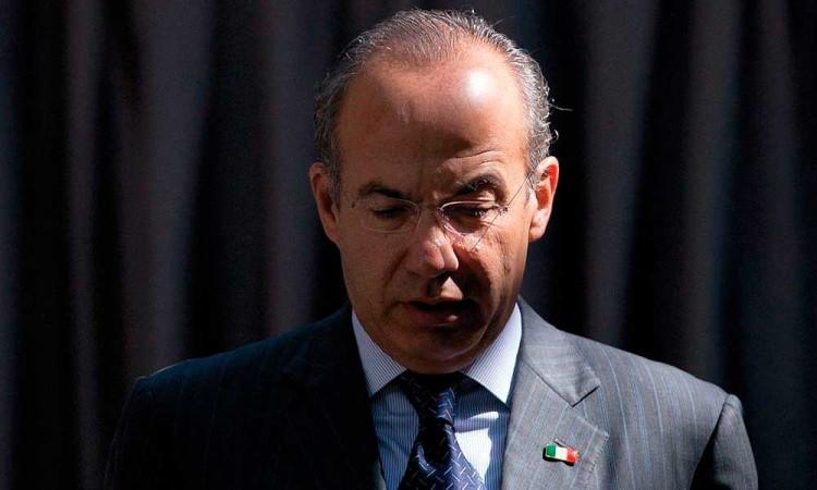Niega Calderón nexos con García Luna y el narco