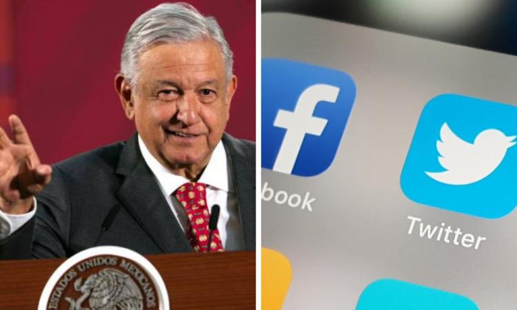 AMLO pide a Facebook y Twitter rendir cuentas