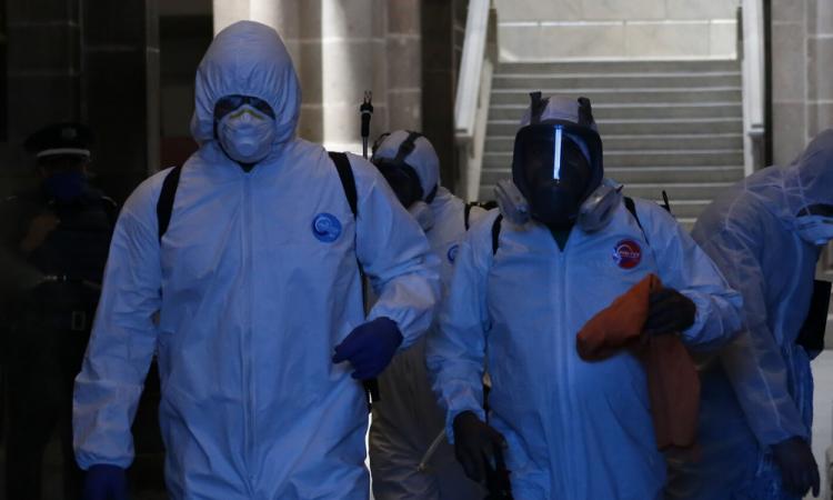 México suma 33,460 contagios y 3,353 decesos por COVID-19