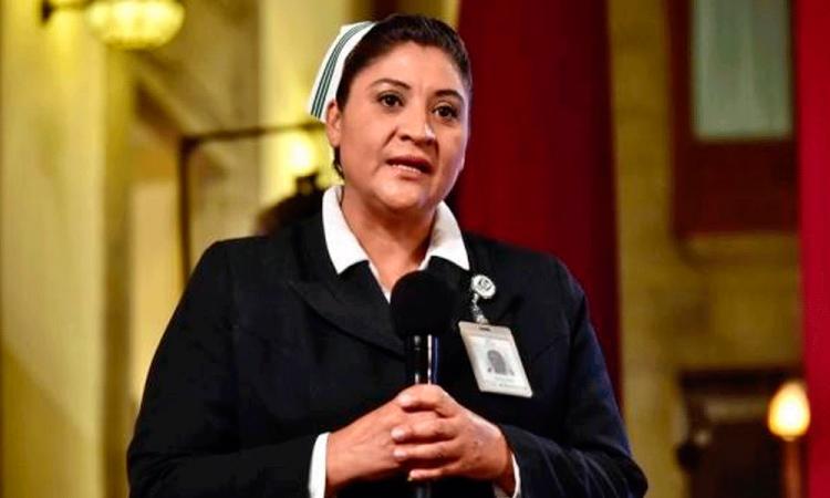 Jefa Fabiana ingresa por decisión propia al Hospital de La Raza IMSS
