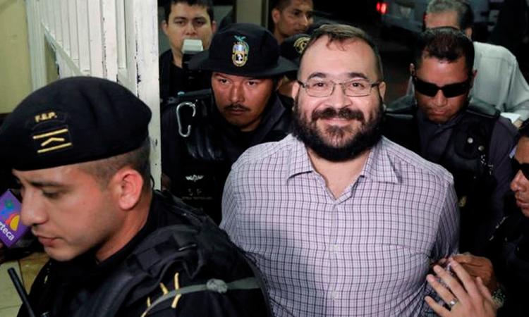 Confirman condena de 9 años de prisión a Javier Duarte