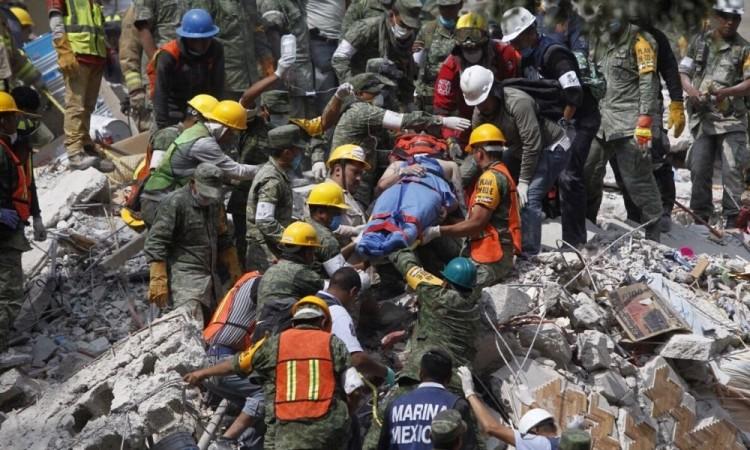 Registran sismo de magnitud 6.1 al noroeste de México