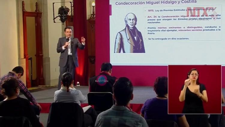 Proponen otorgar condecoración Miguel Hidalgo a trabajadores que atienden pacientes Covid-19