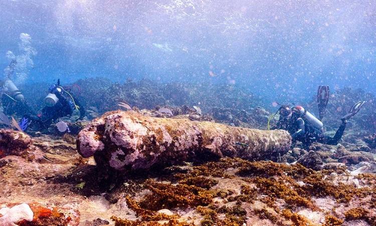 Hallan antiguo velero inglés en mares de Quintana Roo