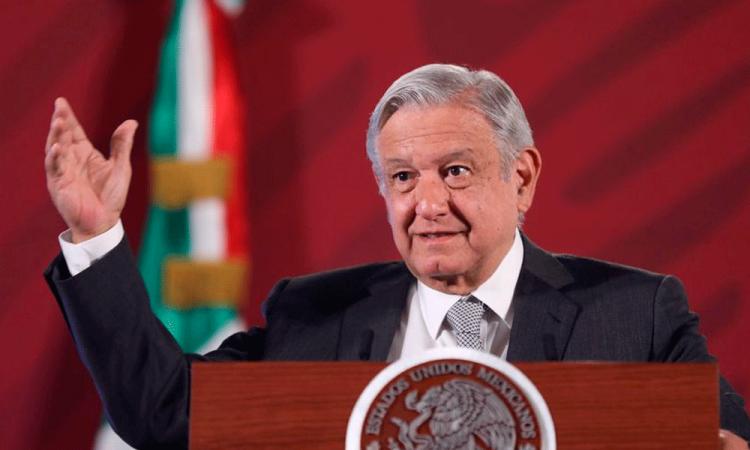 López Obrador dice que hay indicios de descenso de contagios en México