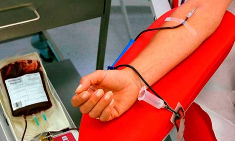 Disminuye donación de sangre durante pandemia de Covid-19
