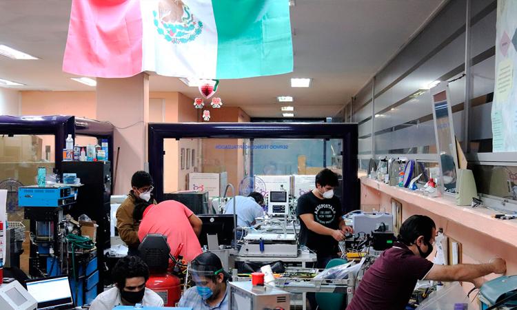 Mexicanos crean ventiladores para no depender de extranjeros